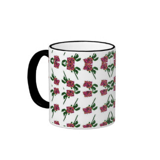 Rose Pattern Mug