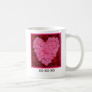 ROSE PETAL HEART...COFFEE MUG (photo)