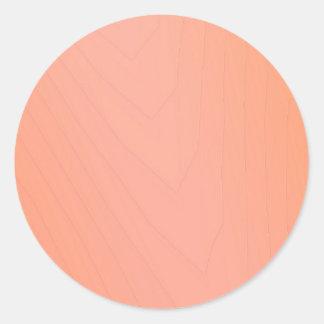 Rose Petal Paper Classic Round Sticker