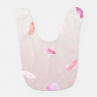 Rose Petals Baby Bib