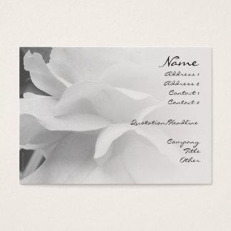 Rose Petals Black & White Blend Profile Card