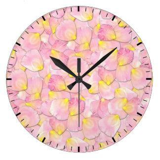 Rose Petals Clock