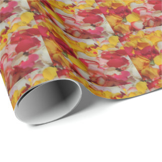 Rose Petals in Cuenca Wrapping Paper