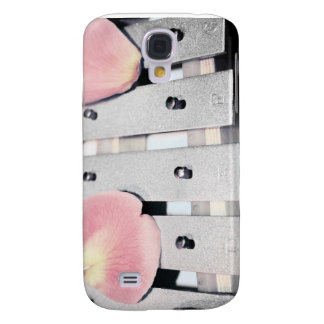 Rose Petals on Metal Bells Faded style Samsung S4 Case