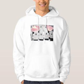 Rose Petals on Metal Bells Faded style Sweatshirt