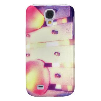 Rose Petals on Metal Bells Purple Pink themed Samsung S4 Case