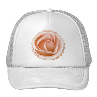 Rose Photo Baseball Cap Trucker Hat