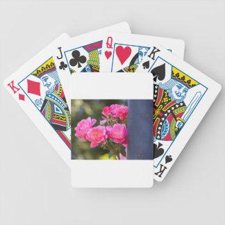 Rose Photo Bicycle Playing Cards
