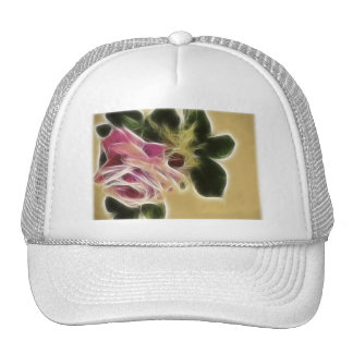 Rose Photo Fractal Trucker Hat