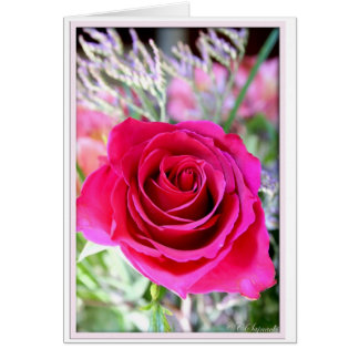 Rose Photo Greeting Card