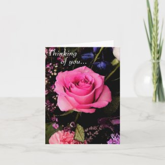 Rose Photo Mother's Day Card card
