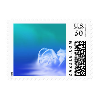 Rose Photo Postage Small Stamp