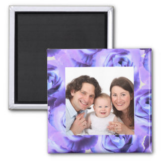Rose/Photo Refrigerator Magnets