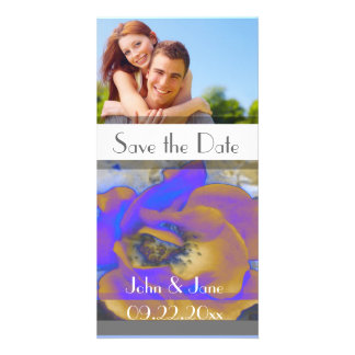 """Rose  /photo  """"Save the Date"""" Card"""