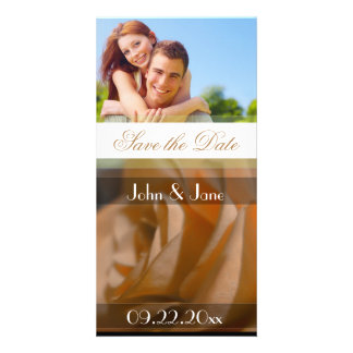 """Rose  /photo  """"Save the Date"""" Picture Card"""