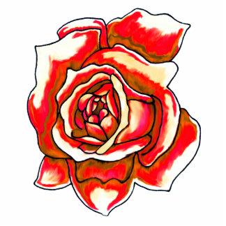 Rose Photo Sculpture