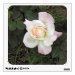 rose photograph room decal
