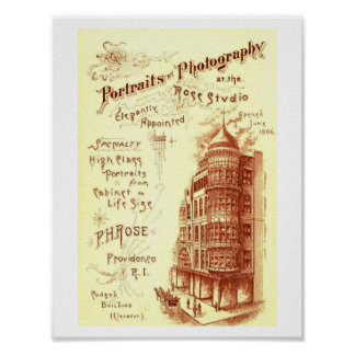 Rose Photography, Providence RI Vintage Poster