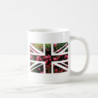 Rose Picture Union Jack British(UK) Flag Coffee Mug