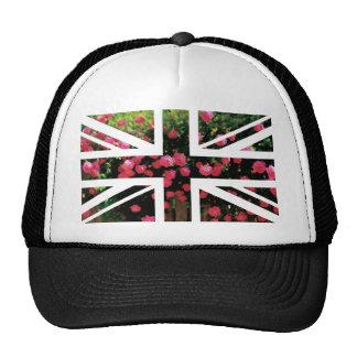 Rose Picture Union Jack British(UK) Flag Trucker Hat