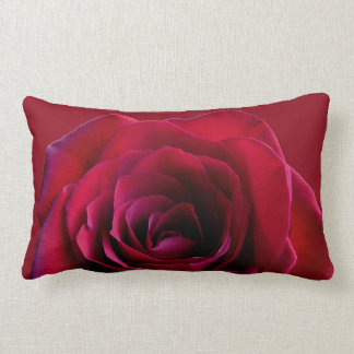 Rose Pillow Personalized Red Rose Pillows & Decor