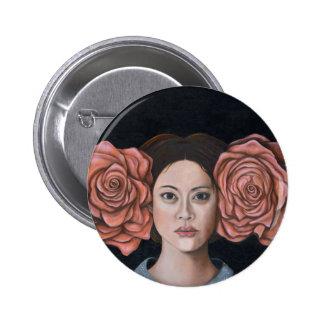 Rose Pinback Button