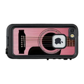 Rose Pink Acoustic Guitar LifeProof FRĒ iPhone SE/5/5s Case