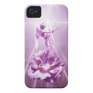 Rose pink Angel flame of love iPhone 4 Case