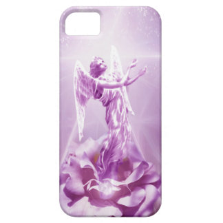 Rose pink Angel flame of love iPhone SE/5/5s Case