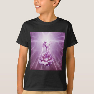 Rose pink Angel flame of love T-Shirt