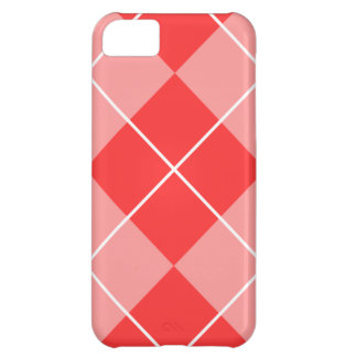 Rose & Pink Argyle Case For iPhone 5C