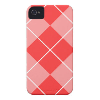 Rose & Pink Argyle iPhone 4 Cover