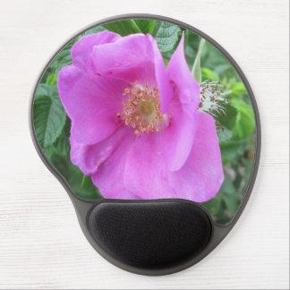 Rose Pink Beach Plum Gel Mouse Mats