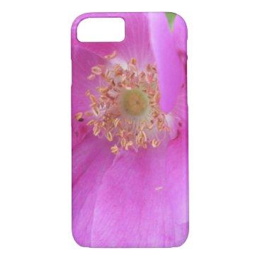 Beach Themed Rose Pink Beach Plum iPhone 7 Case