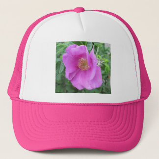 Rose Pink Beach Plum Trucker Hat