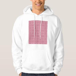 Rose Pink by Design Hoodie