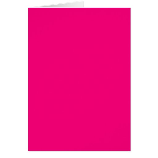 Rose Pink Color Only Custom Design Products Cards