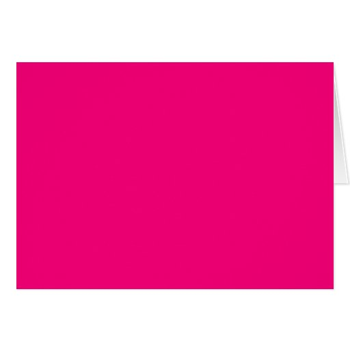 Rose Pink Color Only Custom Design Products Greeting Card