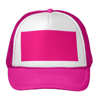 Rose Pink Color Only Custom Design Products Trucker Hat