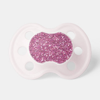 Rose Pink Glamour Pacifier