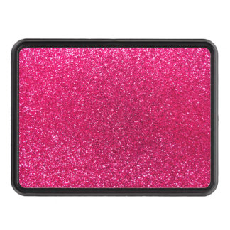 Rose pink glitter trailer hitch cover