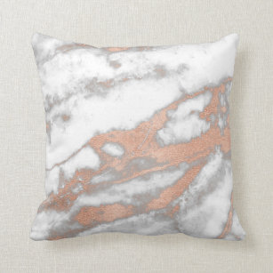 Copper Metallic Pillows Decorative Amp Throw Pillows Zazzle