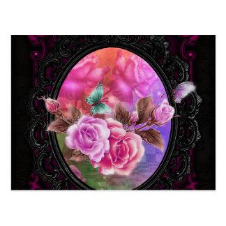 Rose Pink Postcard