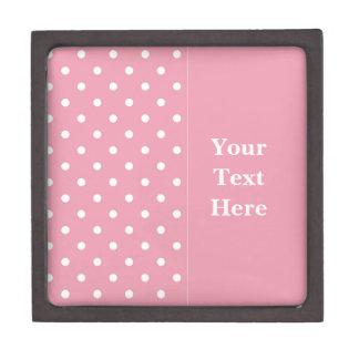Rose Pink Template Premium Keepsake Boxes