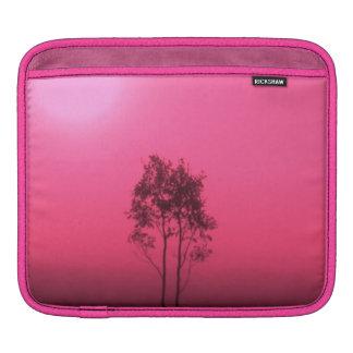 Rose Pink Trees Sunrise Nature Photo Art iPad iPad Sleeve