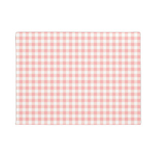 Pink Checked Pattern Doormats Amp Welcome Mats Zazzle