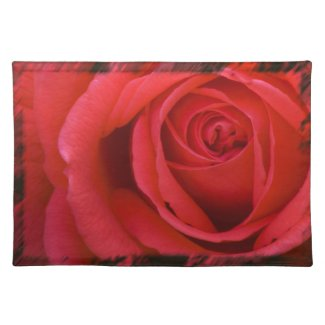 Rose Placemat 1 placemat