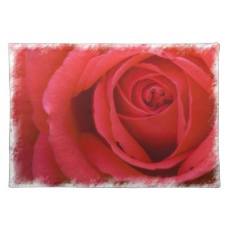 Rose Placemat 3 placemat