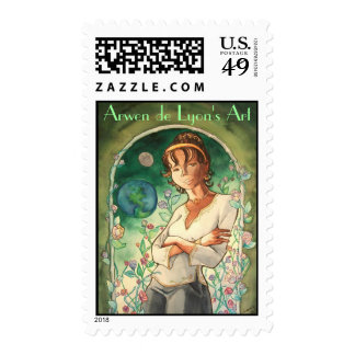 Rose Postage Stamps
