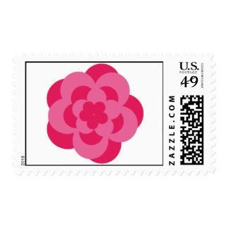 Rose Postal Stamp-Cost. Postage Stamp